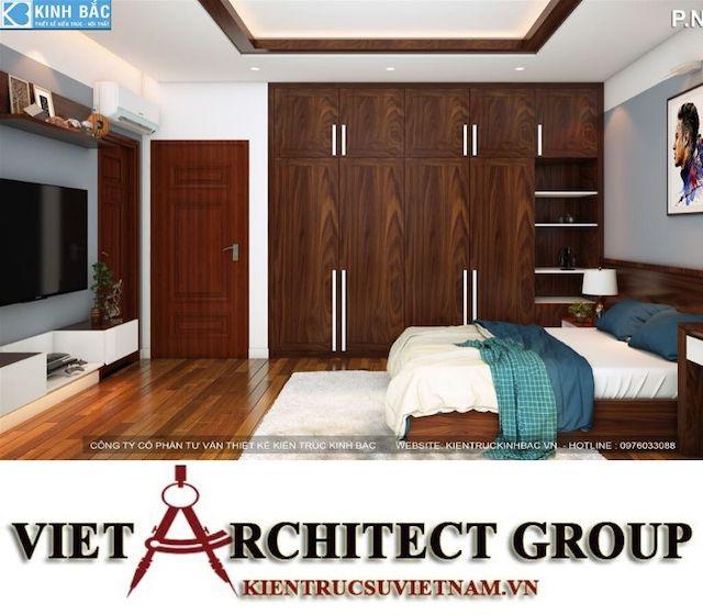 thiet ke phong ngu biet thu gamura 11 - Thiết kế nội thất biệt thự Gamuda Gardens gia đình Mr Lâm