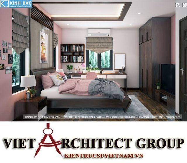 thiet ke phong ngu biet thu gamura 12 - Thiết kế nội thất biệt thự Gamuda Gardens gia đình Mr Lâm