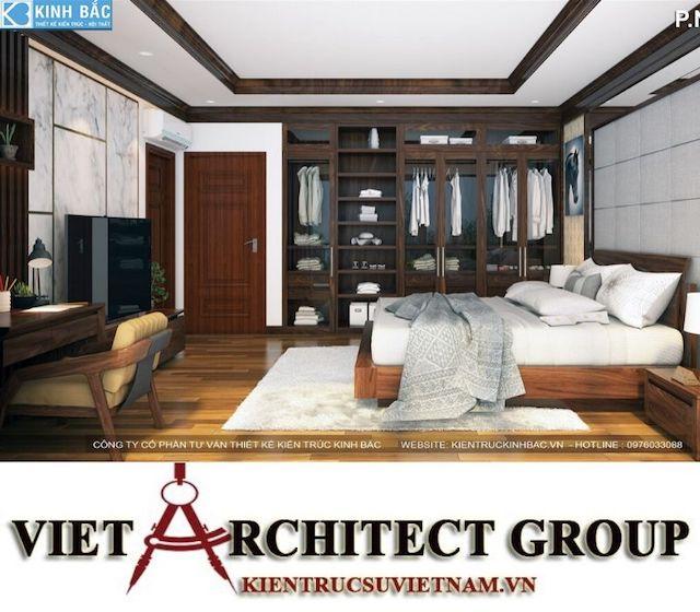 thiet ke phong ngu biet thu gamura 8 - Thiết kế nội thất biệt thự Gamuda Gardens gia đình Mr Lâm