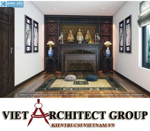 thiet ke phong tho biet thu gamura 7 - Thiết kế nội thất biệt thự Gamuda Gardens gia đình Mr Lâm