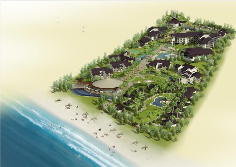thiet ke resort hon tre 1 - Thiết kế resort Hòn Tre Vinh - Kiên Giang