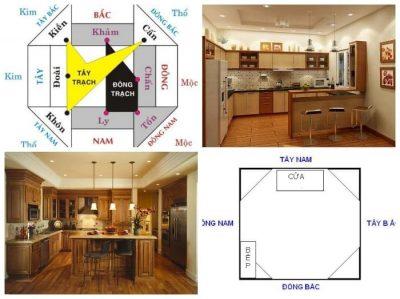 Nhà hướng Đông Bắc nên đặt bếp nằm hướng Đông Nam 1 400x299 - Nhà hướng Đông Bắc đặt bếp hướng nào hợp phong thủy?