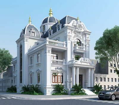 dac diem noi bat cua biet thu pho co dien 1 400x353 - Đặc điểm nổi bật của biệt thự phố cổ điển