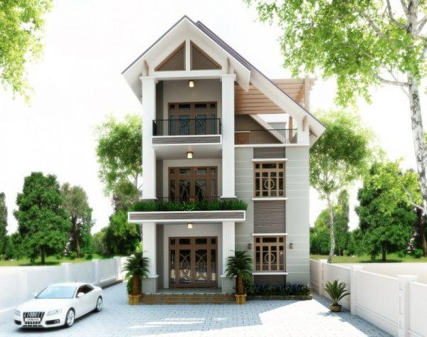 nha pho 3 tang hien dai 1 e1620620933982 - Dịch vụ cải tạo sửa nhà phố trọn gói chuyên nghiệp