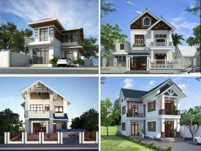 thiet ke nha 2 tang 700 trieu 2 400x300 - Tư vấn thiết kế nhà nhà 2 tầng 7x12m đẹp tối ưu công năng phong thuỷ