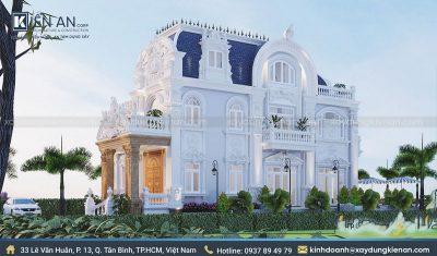 mau biet thu co dien 1 400x235 - Choáng ngợp với kiến trúc cao cấp qua 4 mẫu biệt thự cổ điển