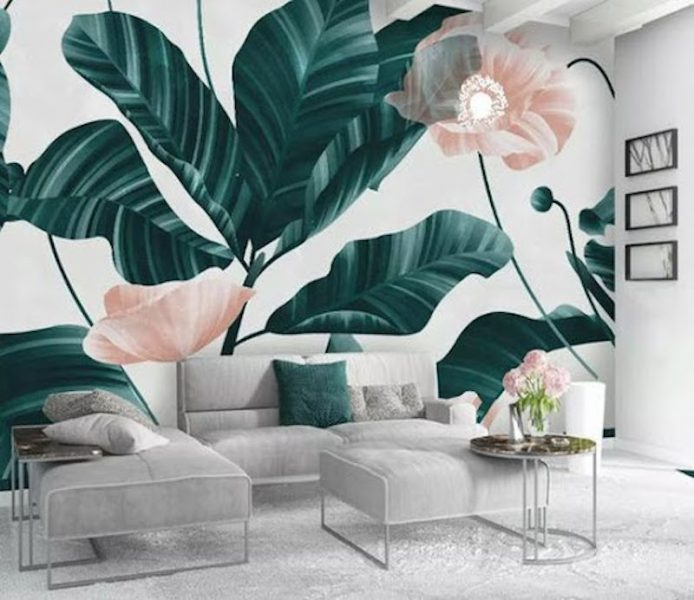 ve tranh tuong spa 6 694x600 - Vẽ tranh tường cho spa