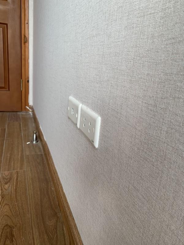 vai dan tuong nguyen soi tu nhien - Vải dán tường sợi thuỷ tinh - Vải dệt 100% nguyên sợi tự nhiên