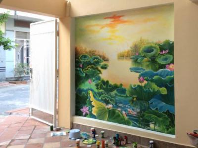 ve tranh tuong 1 400x300 - Vẽ tranh tường tại Ninh Bình