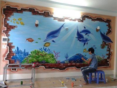 ve tranh tuong vietnam arts galerry 0017 400x300 - Vẽ tranh tường tại Vĩnh Phúc