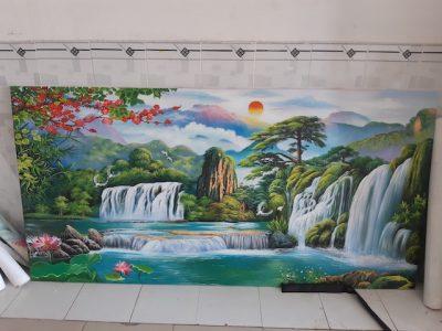 ve tranh tuong vietnam arts galerry 0018 400x300 - Vẽ tranh tường tại Hải Dương