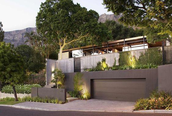 biet thu kieu my hien dai 6 - Thiết kế biệt thự kiểu Mỹ có sân vườn hồ bơi đẹp