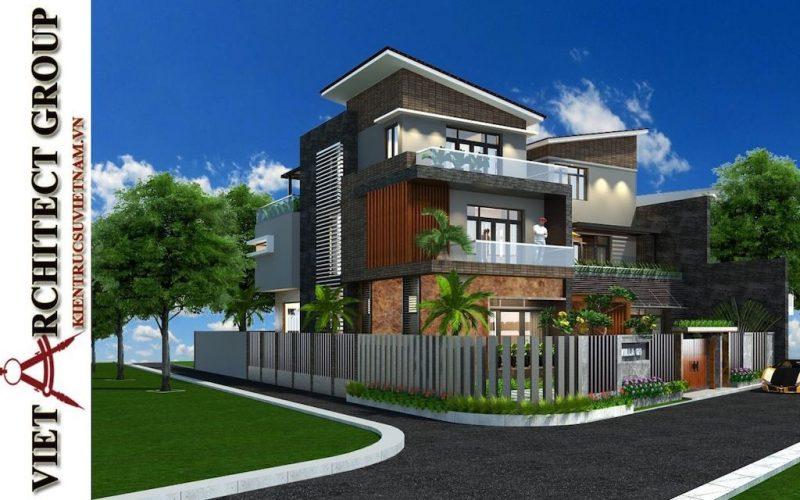 mau thiet ke biet thu dep lo goc tai da nang 2021 800x500 - Thiết kế nhà đẹp ở ĐắK LắK