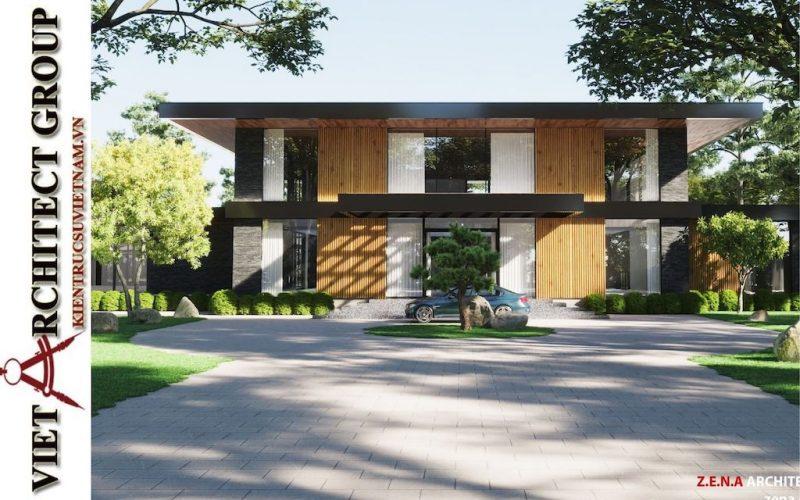 mau thiet ke biet thu san vuon dep 2021 800x500 - Thiết kế nhà đẹp ở Bình Dương