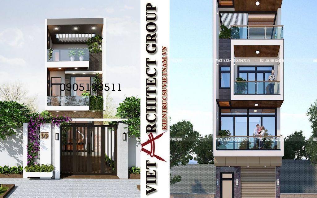 mau thiet ke nha pho 2021 - Thiết kế nhà Đà Nẵng
