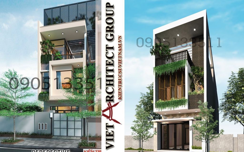 mau thiet ke nha pho dep 2021 - Thiết kế nhà Đà Nẵng
