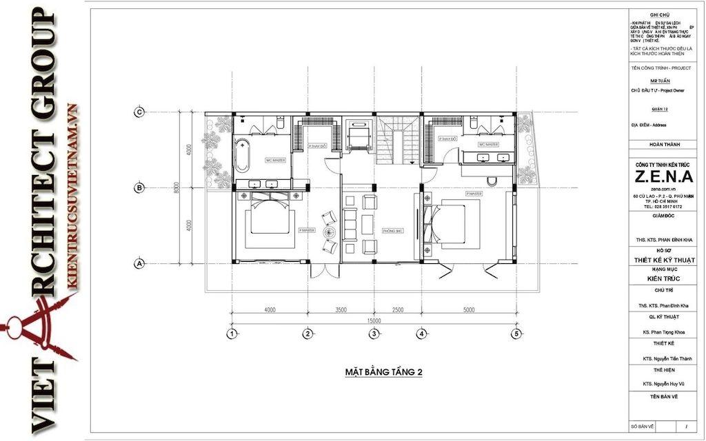 thiet ke biet thu pho phong cach hien dai 4 - Thiết kế biệt thự phố hiện đại 4 tầng đẹp nằm trong khu quy hoạch
