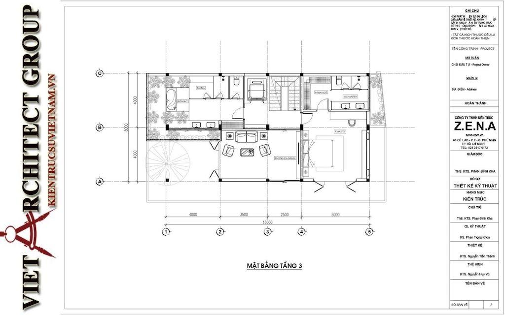 thiet ke biet thu pho phong cach hien dai 5 - Thiết kế biệt thự phố hiện đại 4 tầng đẹp nằm trong khu quy hoạch
