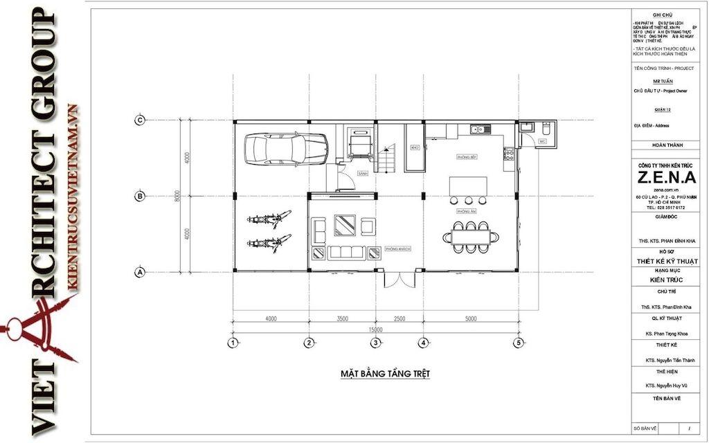 thiet ke biet thu pho phong cach hien dai 6 - Thiết kế biệt thự phố hiện đại 4 tầng đẹp nằm trong khu quy hoạch