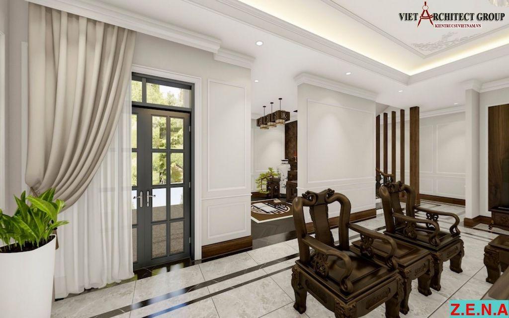 thiet ke noi that phong khach mr hieu tn 4 - Thiết kế nội thất phòng khách - 4 bước đơn giản tạo nên không gian đẹp