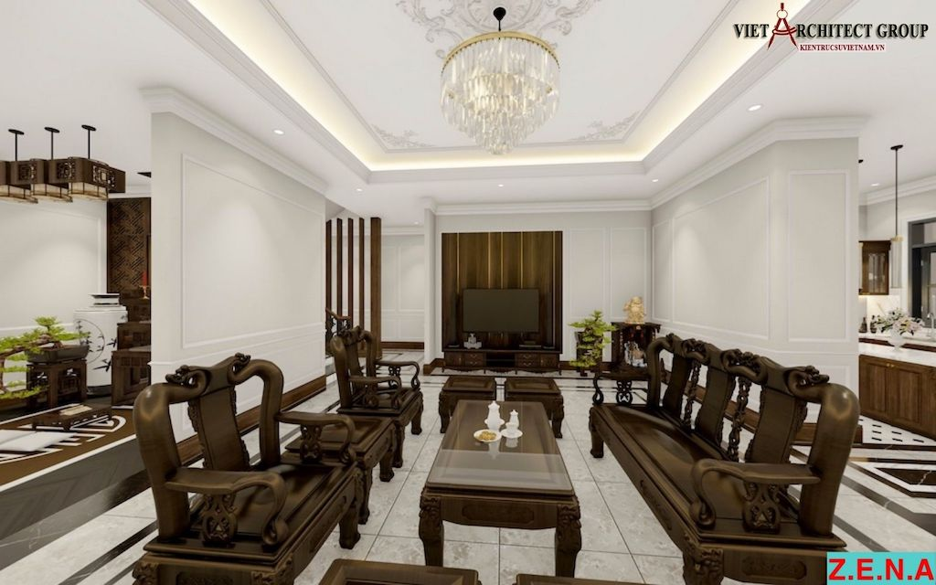 thiet ke noi that phong khach mr hieu tn 5 - Thiết kế nội thất phòng khách - 4 bước đơn giản tạo nên không gian đẹp