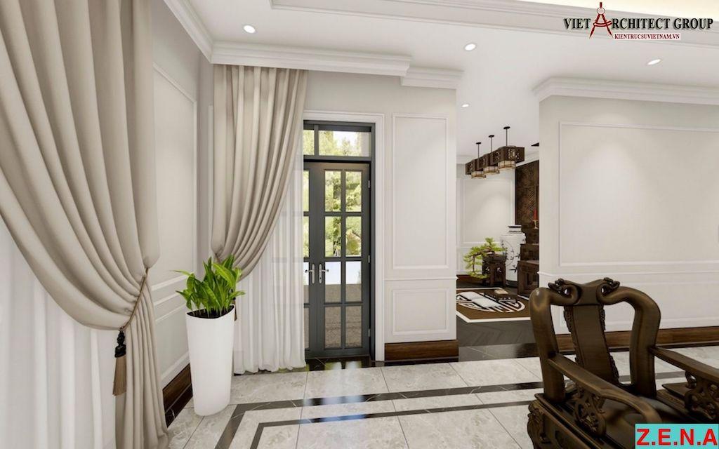 thiet ke noi that phong khach mr hieu tn - Thiết kế nội thất phòng khách - 4 bước đơn giản tạo nên không gian đẹp