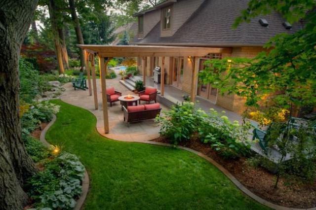 thiet ke san vuon 2a - Thiết kế nhà vườn đẹp