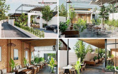tk cafe sep kha 1 400x250 - Thiết kế quán cafe sân vườn hiện đại