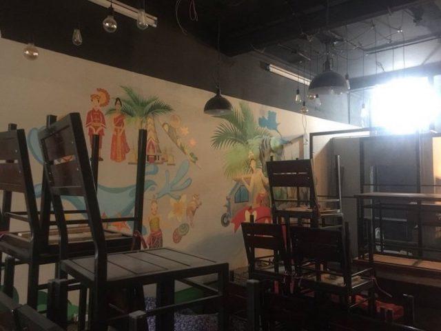 ve tranh tuong 2021 z2341957455525 601649757b61405cbc8faea1a88f2497.jpeg e1619110050597 - Vẽ tranh tường quán Cafe 2d, 3d cực đẹp theo yêu cầu đảm bảo tiến độ