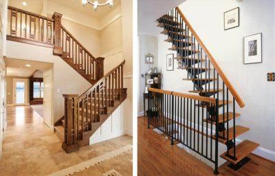 lan can tay vin cau thang 400x256 - Những mẫu thiết kế lan can tay vịn cầu thang đẹp