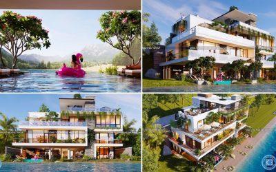 thiet ke biet thu nghi duong 400x250 - Biệt thự nghỉ dưỡng đẹp sang trọng đẳng cấp thiết kế ấn tượng