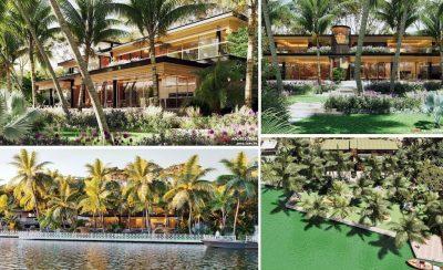 thiet ke biet thu nghi duong ven song 400x244 - Thiết kế biệt thự nghỉ dưỡng ven sông - Tân Uyên Bình Dương