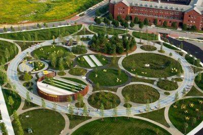 thiet ke canh quan 10 400x266 - thiết kế cảnh quan công viên