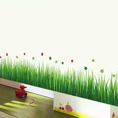 ve co chan tuong 400x400 - Hướng dẫn cách vẽ cỏ chân tường đẹp