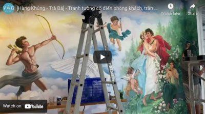 ve tranh tuong co dien 400x224 - Vẽ tranh tường tại tphcm