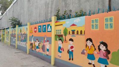 ve tranh tuong truong tieu hoc 1 400x224 - Vẽ tranh tường trường tiểu học