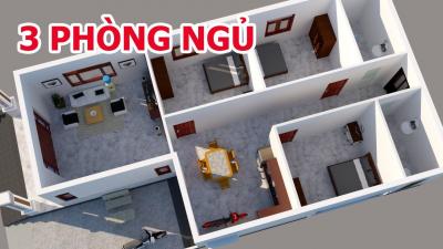 1 6 400x225 - Chi phí xây nhà cấp 4 3 phòng ngủ là bao nhiêu?