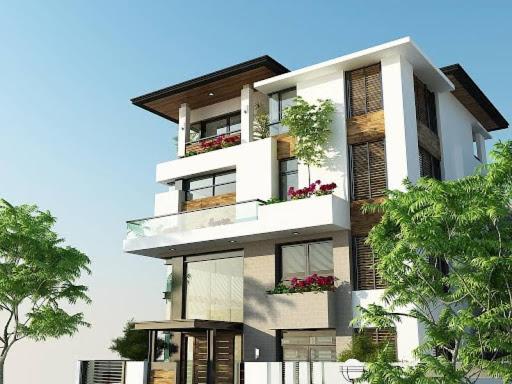 2 8 - Thiết kế nhà phố đẹp