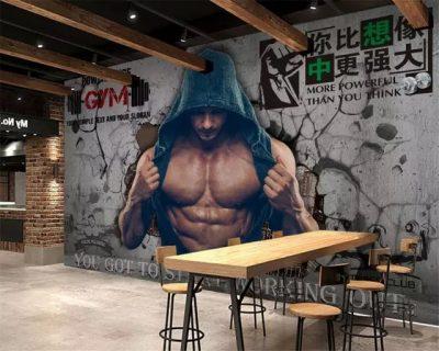 Ve Tranh Tuong Phong Gym 3 copy 400x320 - Vẽ Tranh Tường Phòng Gym
