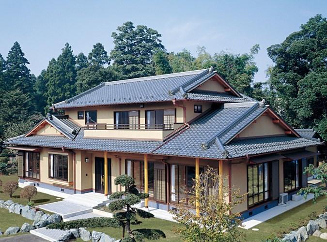 biet thu kieu nhat - Thiết kế nhà kiểu Nhật đẹp