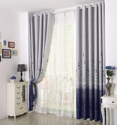 rem phong khach 375x400 - 4 lưu ý quan trọng khi chọn rèm cửa phòng khách