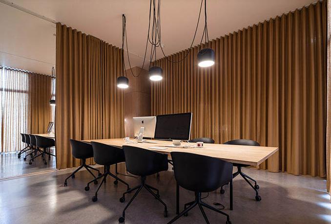 rem van phong 1 - Thiết kế nội thất văn phòng đẹp