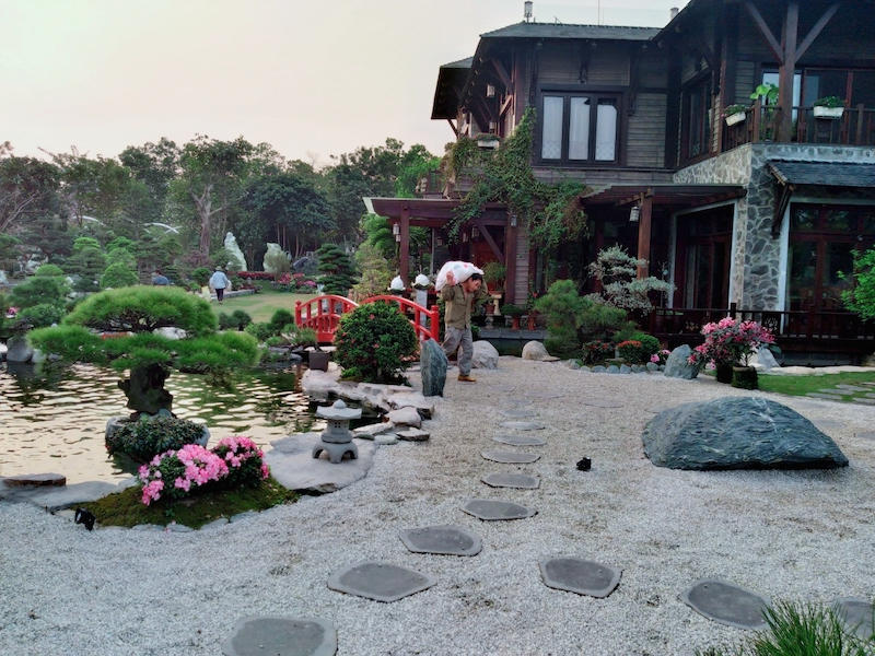 thiet ke thi cong san vuon z2481521974705 cdddc99deec601c8bf6d4e77f68174ac - Thiết kế nhà kiểu Nhật đẹp