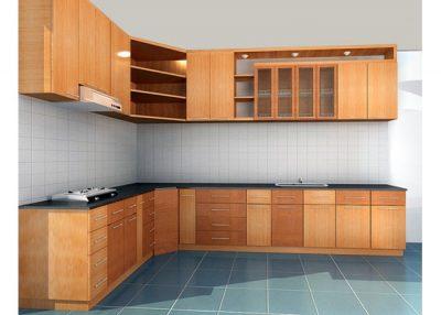 tu bep go xoan 2 400x286 - Tủ bếp gỗ xoan và những lợi ích đối với người dùng