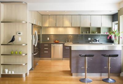 tu bep hien dai 1 400x275 - Tủ bếp hiện đại và những lý do lựa chọn