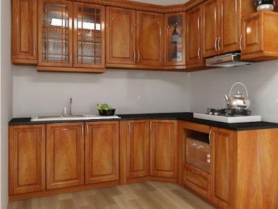 tu bep ho soi 400x300 - Đặc điểm của tủ bếp sồi Nga