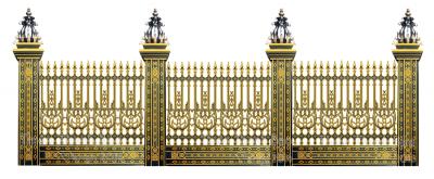 hang rao nhom duc 1 400x165 - Tổng hợp ưu điểm của hàng rào nhôm đúc chất lượng