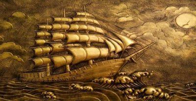 phu dieu thuan buom xuoi gio 2 400x207 - Tìm hiểu về ý nghĩa đặc biệt của phù điêu thuận buồm xuôi gió