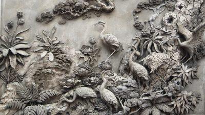 phu dieu tung hac 1 400x225 - Vì sao nên treo tranh phù điêu tùng hạc?