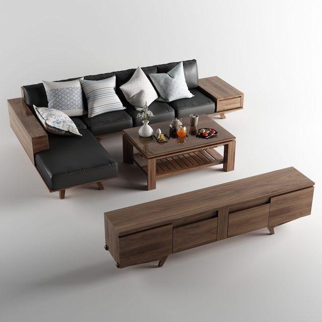 ghe sofa go oc cho cao cap - Bộ bàn ghế sofa gỗ đẹp hiện đại sang trọng đẳng cấp
